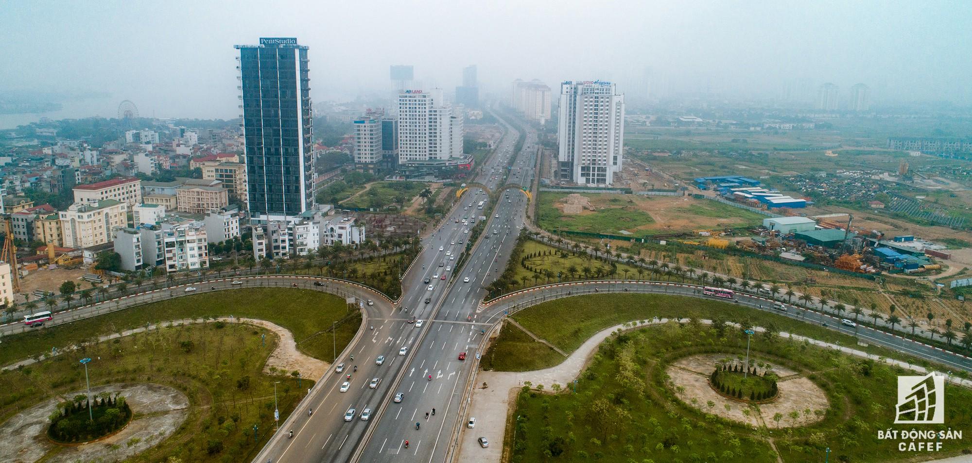Cận cảnh hàng loạt dự án cao ốc dọc trục đường 8 làn xe tại trung tâm Hà Nội - Ảnh 2.