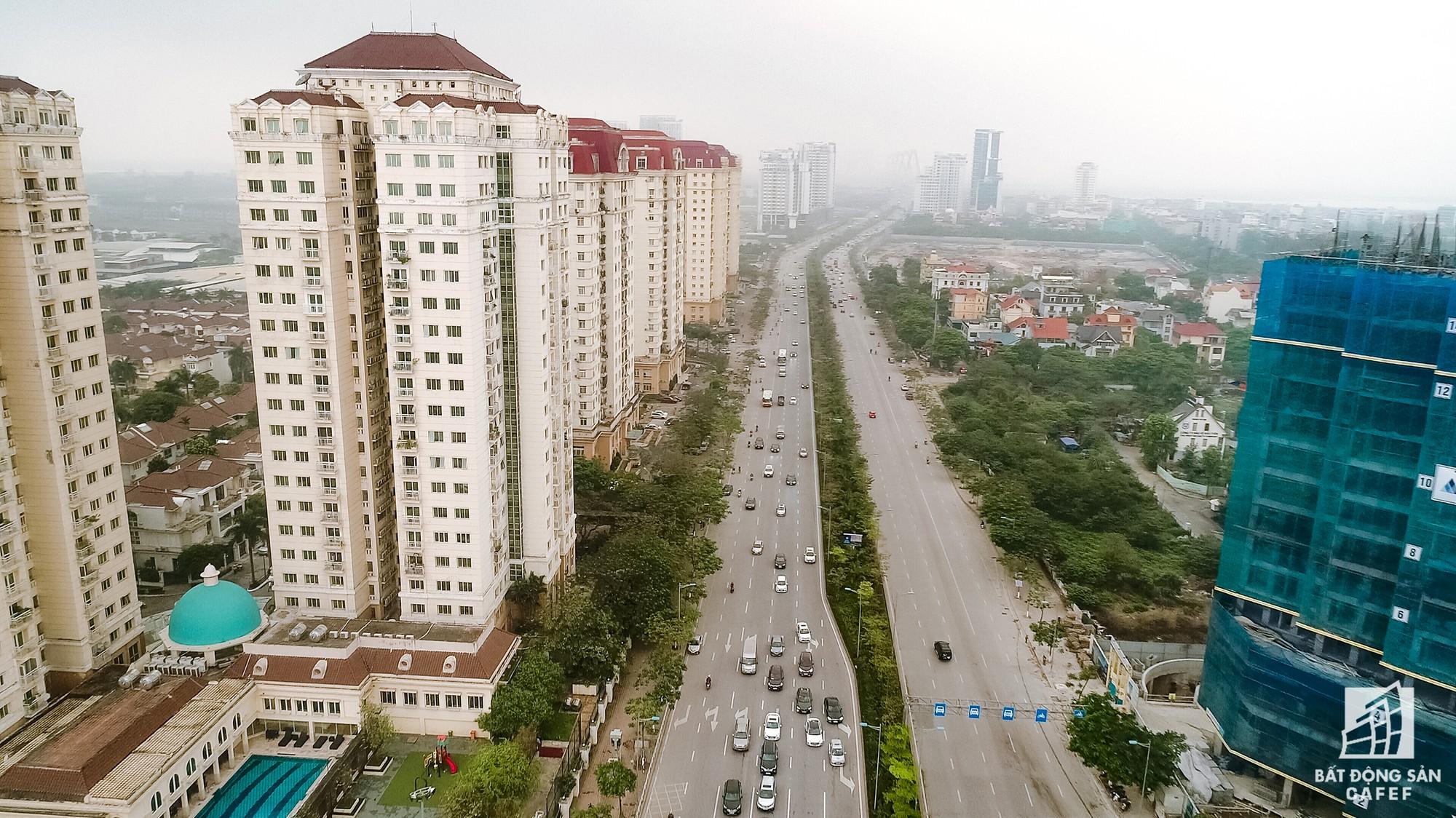 Cận cảnh hàng loạt dự án cao ốc dọc trục đường 8 làn xe tại trung tâm Hà Nội - Ảnh 15.