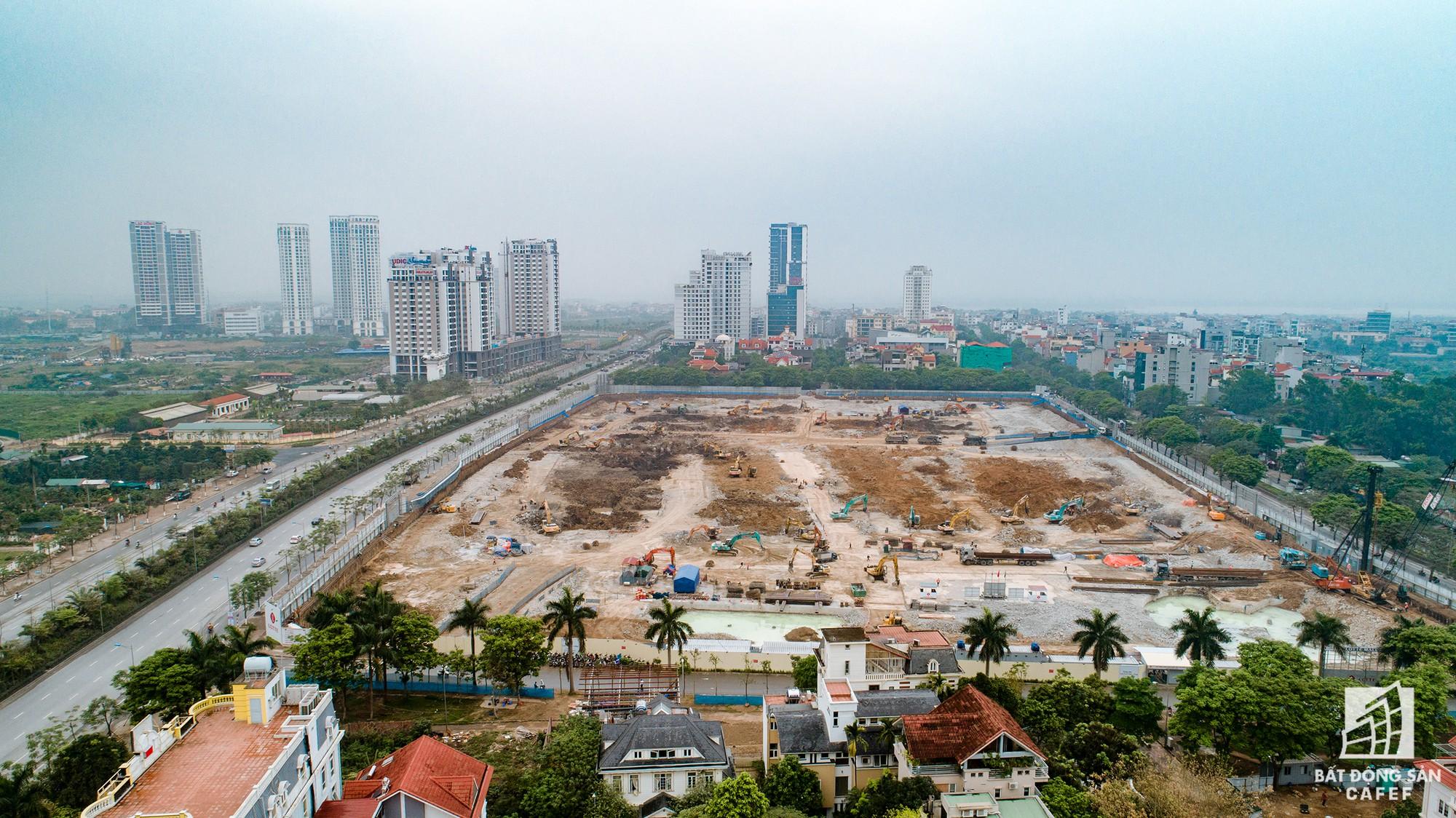 Cận cảnh hàng loạt dự án cao ốc dọc trục đường 8 làn xe tại trung tâm Hà Nội - Ảnh 3.