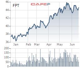FPT: LNTT 5 tháng tăng trưởng 22%, thị trường nước ngoài đóng góp 40% - Ảnh 1.