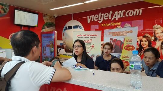 Vietjet chậm, hủy chuyến nhiều từ ngày 14-6 do thiếu phi công - Ảnh 1.