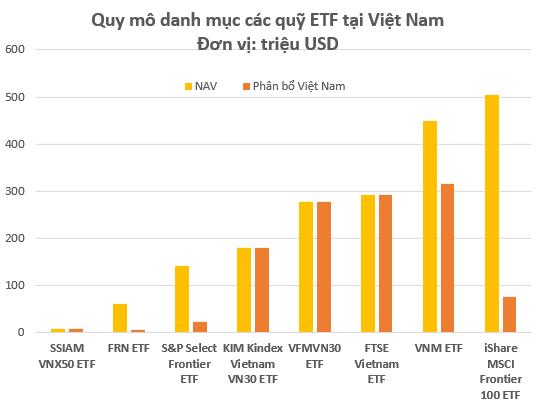 Điểm mặt quỹ ETFs giải ngân trên thị trường Việt Nam: Bất ngờ với nhiều cái tên lạ