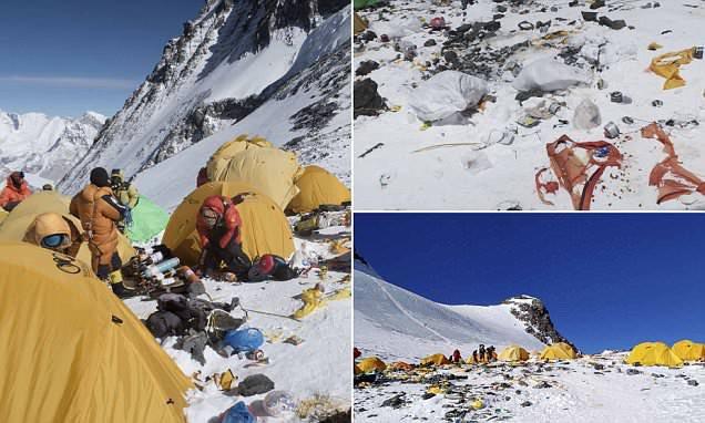 Những bức hình ám ảnh nhất trên đường chinh phục đỉnh Everest: Từ các cột mốc thi thể đến sự thật kinh hoàng hiện ra khi tuyết tan - Ảnh 6.