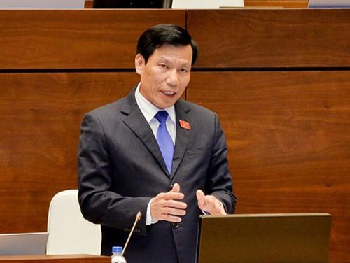 Hôm nay, Quốc hội chất vấn Bộ trưởng Bộ GTVT Nguyễn Văn Thể - Ảnh 3.
