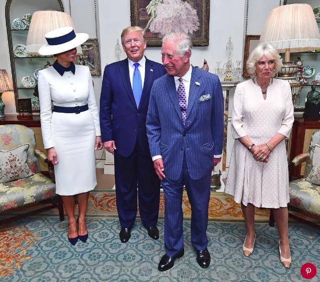 Bà Camilla Parker, người bị ghét nhất hoàng gia Anh, bỗng nổi như cồn chỉ sau một đêm nhờ cái nháy mắt thần thánh khi gặp vợ chồng Tổng thống Trump - Ảnh 2.