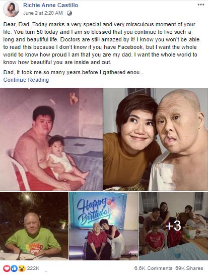 Bức thư đầy xúc động của con gái gửi đến người cha mắc Hội chứng Down: Con muốn cả thế giới biết rằng cha tuyệt vời đến thế nào - Ảnh 1.