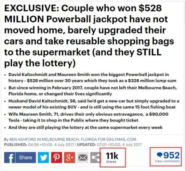 Trúng giải xổ số độc đắc 500 triệu USD, cách dùng tiền của cặp vợ chồng này đã khiến cả nước Mỹ thán phục - Ảnh 10.
