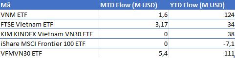 FTSE Vietnam ETF phát hành ròng 34 triệu USD chứng chỉ quỹ từ đầu năm tới nay - Ảnh 1.