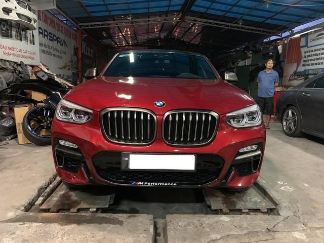 Bất ngờ xuất hiện BMW X4 M40i mạnh nhất, siêu độc tại Việt Nam, giá tính thuế 3,4 tỷ đồng - Ảnh 1.