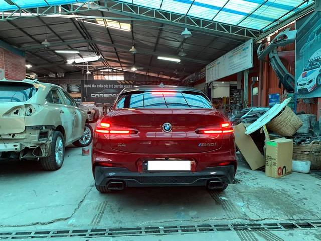 Bất ngờ xuất hiện BMW X4 M40i mạnh nhất, siêu độc tại Việt Nam, giá tính thuế 3,4 tỷ đồng - Ảnh 8.