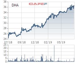 Đá Hóa An (DHA): Giá cổ phiếu tăng mạnh dù kết quả kinh doanh vẫn đều đều - Ảnh 2.
