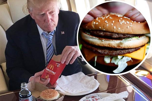 Hóa ra tổng thống Mỹ cũng như chúng ta, mê đồ ăn nhanh và thích mua hàng siêu thị - Ảnh 1.