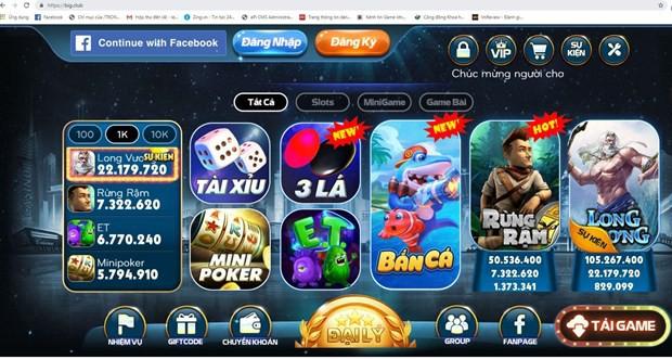 Bất ngờ về sự tinh vi của đường dây đánh bạc online Big.club  - Ảnh 1.