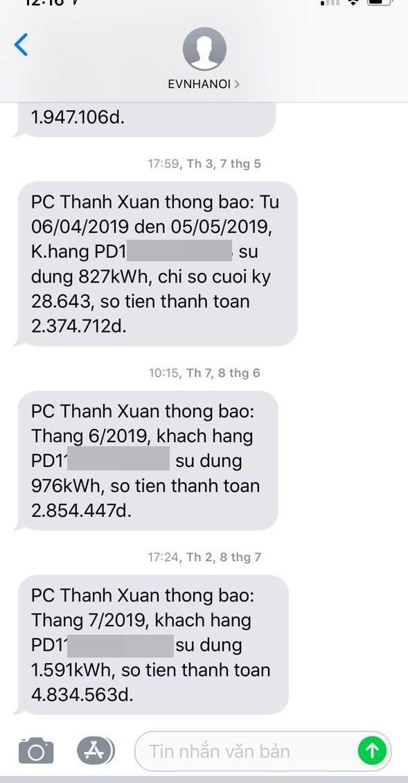 Người dân Hà Nội kêu trời vì hoá đơn tiền điện tháng vừa qua tăng gấp đôi: Công ty điện lực lý giải nguyên nhân - Ảnh 1.