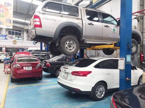 Phí bảo dưỡng ôtô cao chót vót - Ảnh 1.
