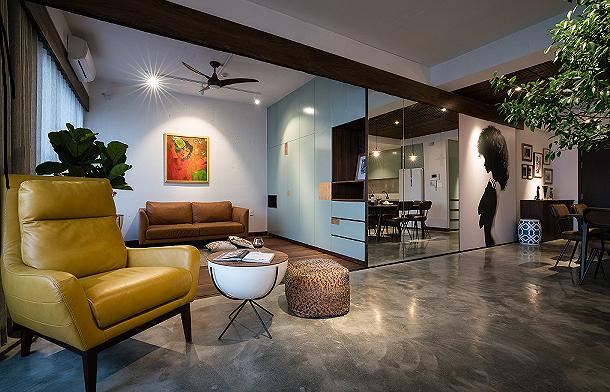 Căn hộ chật hẹp bỗng đẹp miễn chê nhờ thiết kế nội thất thông minh - Ảnh 3.