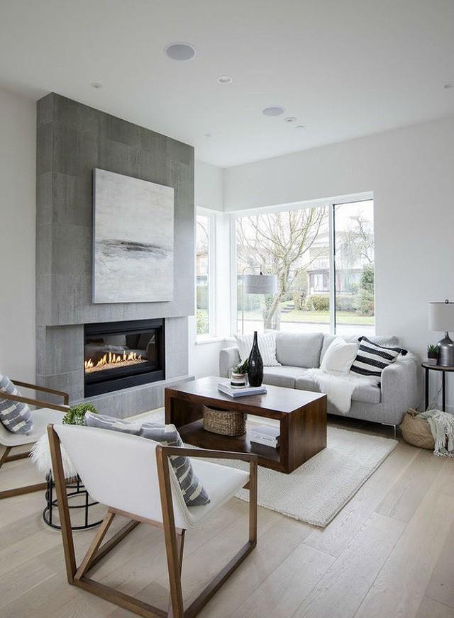 Nhà phố hẹp vẫn đẹp nao lòng nhờ thiết kế tối giản - Ảnh 3.