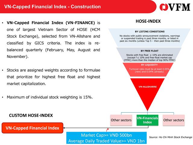 VFM huy động vốn 2 quỹ ETF cho cổ phiếu gần hết room và ngành tài chính - Ảnh 2.