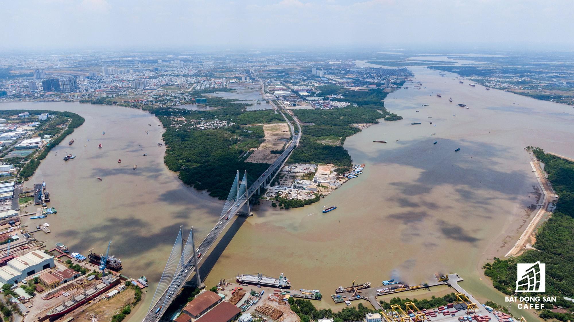 Cung đường dự án tỷ đô khiến bất động sản khu Nam Sài Gòn trỗi dậy - Ảnh 1.