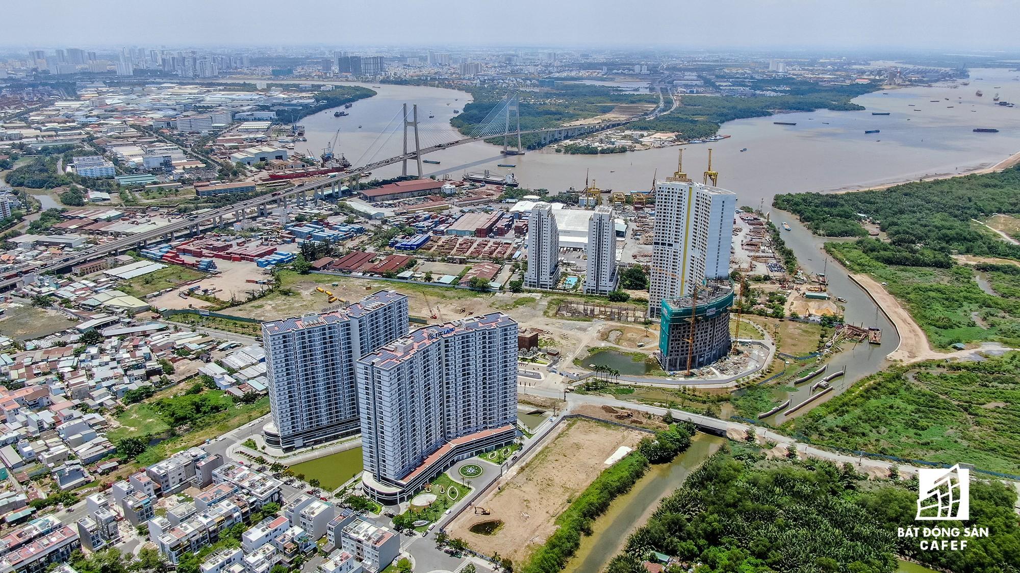 Cung đường dự án tỷ đô khiến bất động sản khu Nam Sài Gòn trỗi dậy - Ảnh 2.