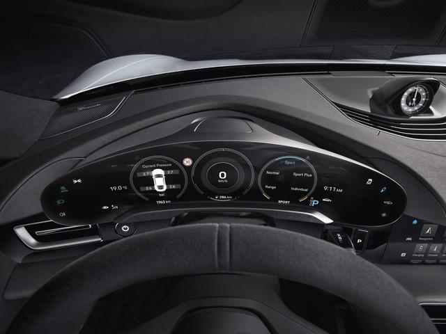 Đây là nội thất Porsche Taycan sắp về Việt Nam: Màn hình, công nghệ tràn ngập - Ảnh 3.
