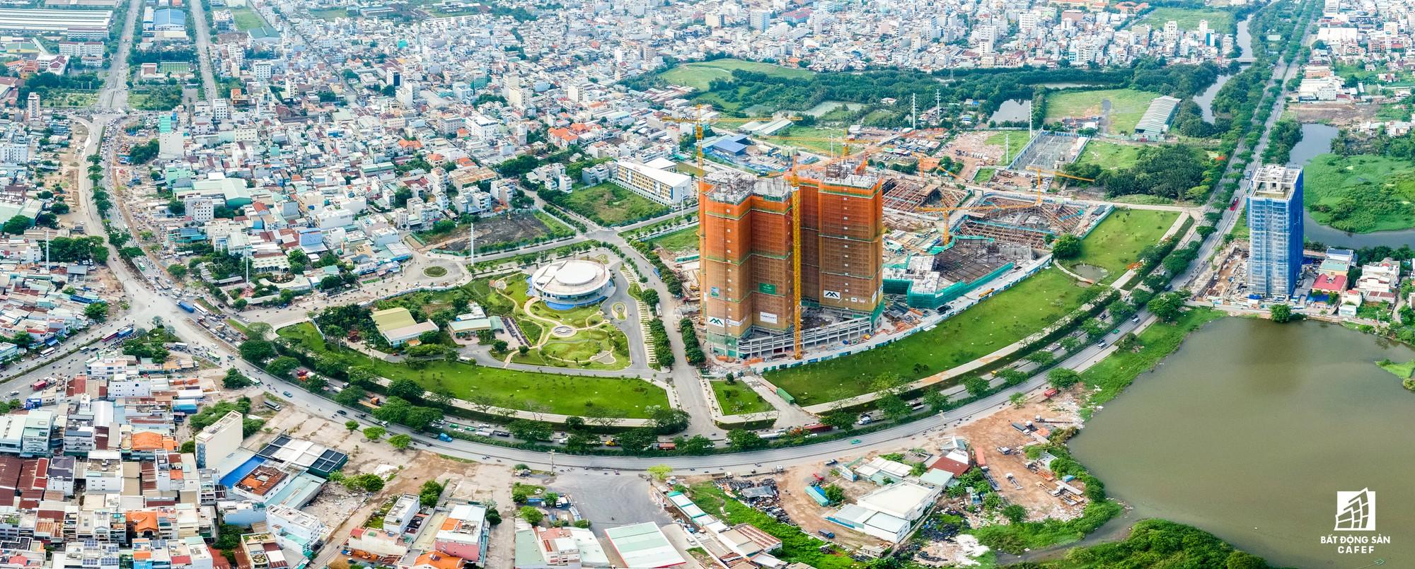 Toàn cảnh đại lộ tỷ đô đã tạo nên một thị trường bất động sản rất riêng cho khu Nam Sài Gòn - Ảnh 3.