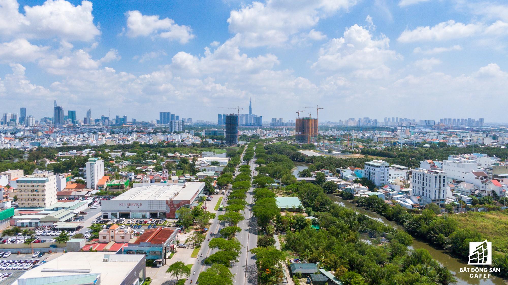 Toàn cảnh đại lộ tỷ đô đã tạo nên một thị trường bất động sản rất riêng cho khu Nam Sài Gòn - Ảnh 5.