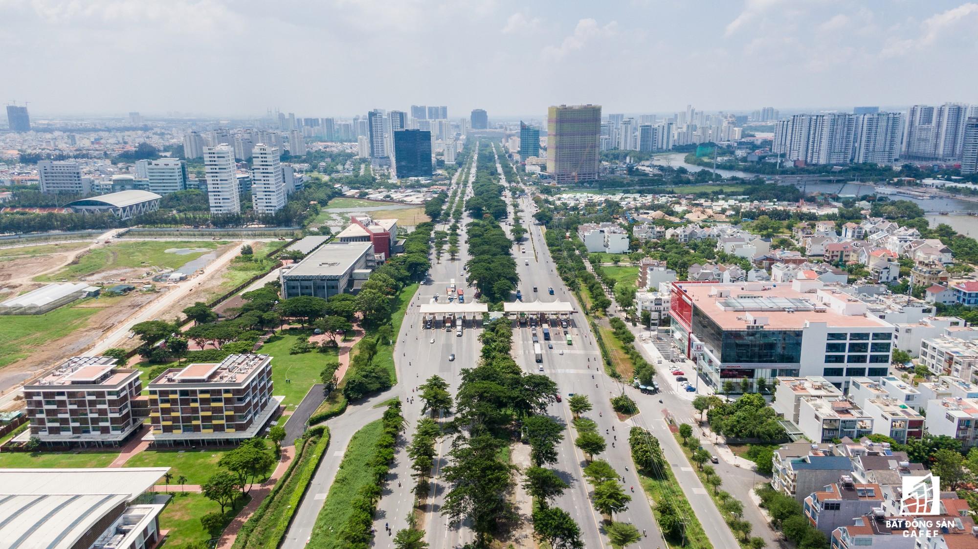 Toàn cảnh đại lộ tỷ đô đã tạo nên một thị trường bất động sản rất riêng cho khu Nam Sài Gòn - Ảnh 9.