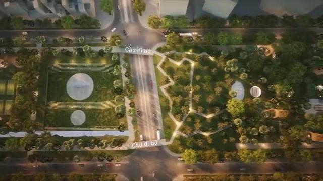 Hình hài Công viên 23-9 qua hai thiết kế đoạt giải - Ảnh 11.