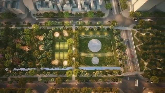 Hình hài Công viên 23-9 qua hai thiết kế đoạt giải - Ảnh 12.