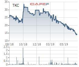Địa ốc Tân Kỷ (TKC) bị truy thu và phạt thuế gần 10 tỷ đồng - Ảnh 1.