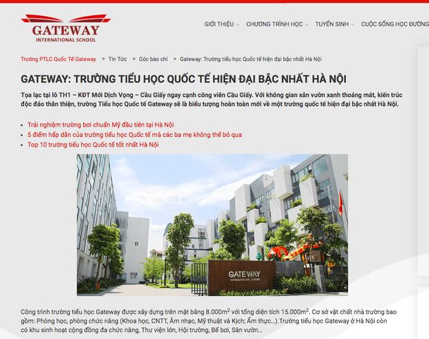 Sự thật về trường học kiểu Mỹ mang tên quốc tế Gateway - Ảnh 1.