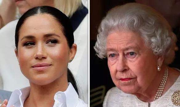 Nữ hoàng Anh cảm thấy tổn thương và thất vọng về cháu dâu Meghan Markle - Ảnh 1.