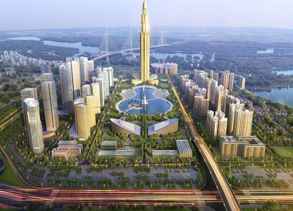 Chuẩn bị khởi công siêu dự án Thành phố thông minh tại Đông Anh, Hà Nội - Ảnh 1.