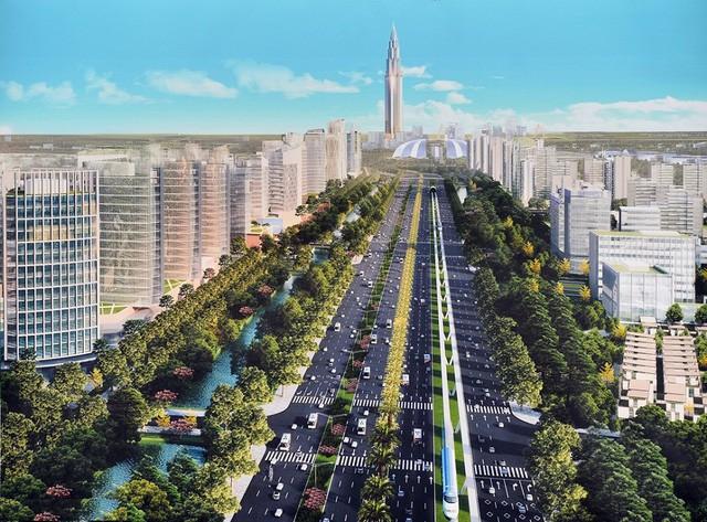 Chuẩn bị khởi công siêu dự án Thành phố thông minh tại Đông Anh, Hà Nội - Ảnh 2.