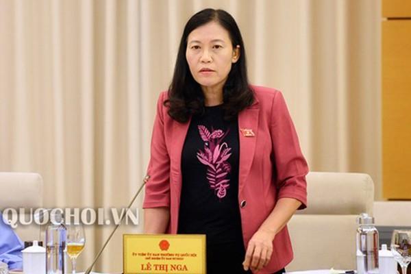 Đề nghị Bộ Công an xử lý nghiêm nữ đại úy Lê Thị Hiền - Ảnh 1.