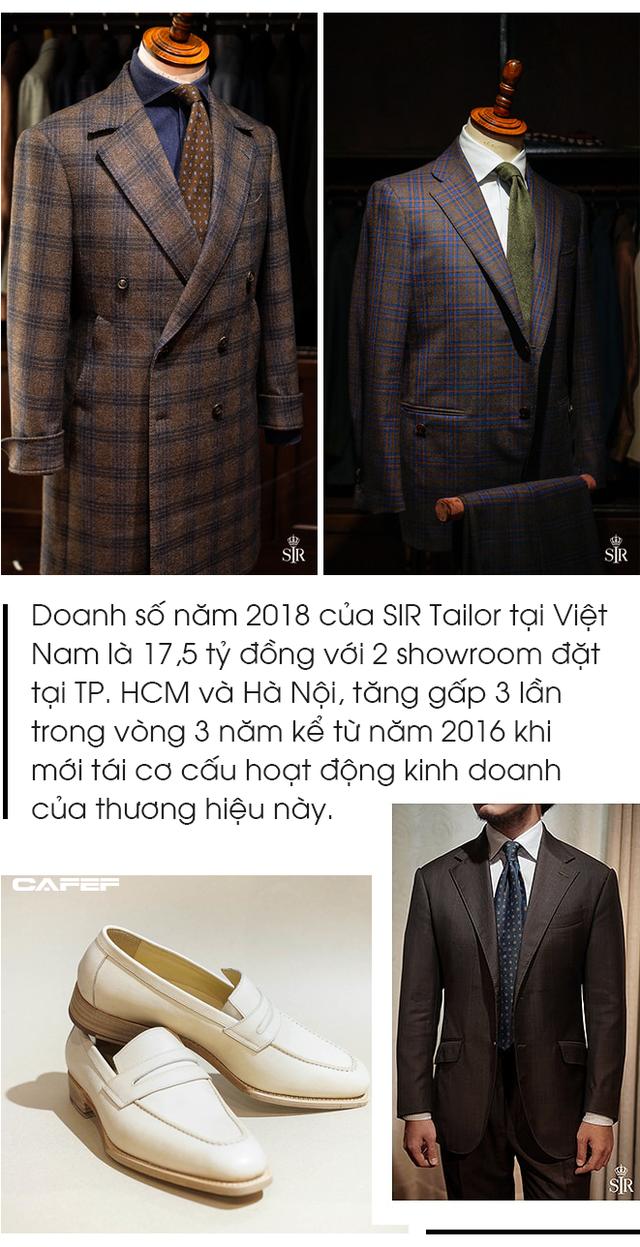 Bí quyết của SIR Tailor: Mỗi tháng may không quá 35-40 bộ suit để giữ chất lượng, mở showroom tại Đức và bắt tay với người khổng lồ Patek Philippe tại Thái Lan - Ảnh 6.