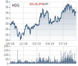 Nhiều mảng kinh doanh lõi đồng thuận tăng trưởng, cổ phiếu Hà Đô (HDG) tăng vọt trong nửa đầu năm 2019 - Ảnh 1.