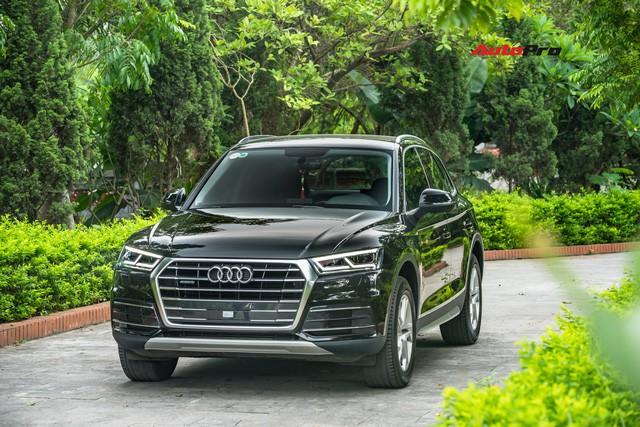 Triệu hồi Audi Q5 tại Việt Nam vì nghi bị lỗi rò rỉ dầu phanh thuỷ lực - Ảnh 1.