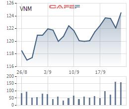 Khai mở thị trường Trung Quốc, cổ phiếu Vinamilk bất ngờ sáng nhất thị trường chứng khoán  - Ảnh 2.