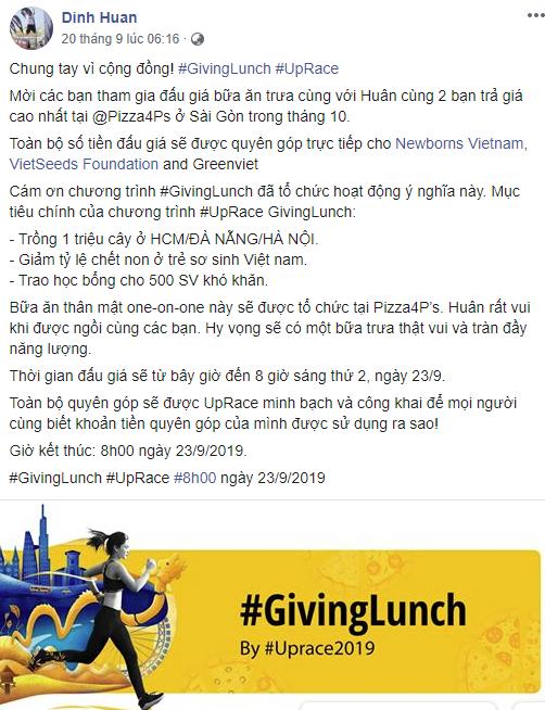 Học theo tỷ phú Warren Bufett, nhiều doanh nhân Việt tham gia chương trình đấu giá bữa trưa vì mục đích xã hội - Ảnh 1.