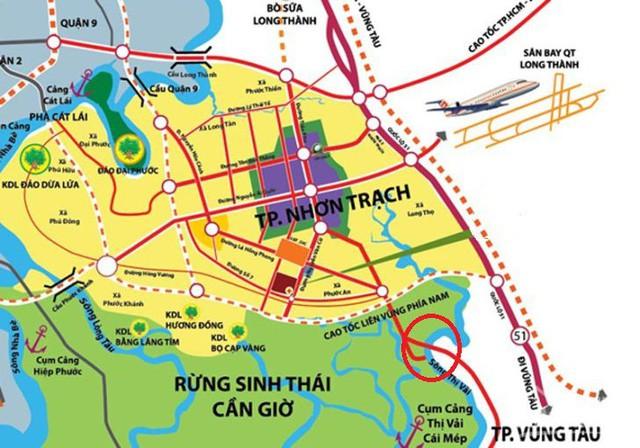 Hàng loạt dự án khu đô thị mới rầm rộ đầu tư ở Nhơn Trạch đón đầu sân bay Long Thành - Ảnh 1.