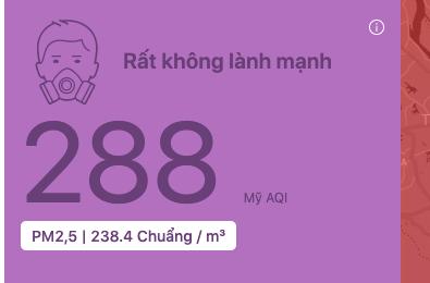 Nơi nào ở Hà Nội ô nhiễm không khí nguy hiểm nhất sáng đầu tuần? - Ảnh 2.