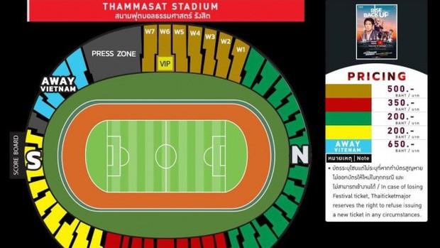 Người Thái săn lùng vé xem đội nhà đấu Việt Nam, giá vé tăng phi mã lên gấp 8 lần so với giá gốc - Ảnh 1.