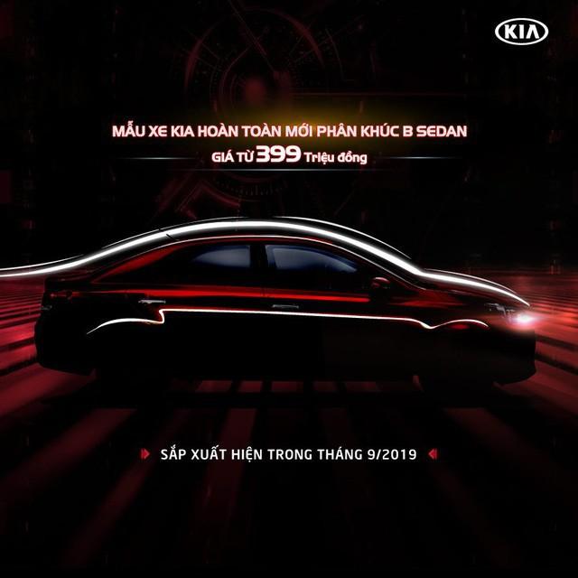Kia Soluto lộ giá bán không đến 400 triệu đồng - xe hạng B giá ngang VinFast Fadil - Ảnh 1.