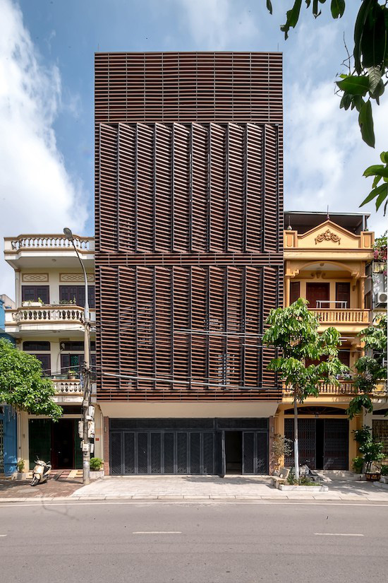 Độc đáo ngôi nhà 5 tầng biết thở ở Bắc Ninh - Ảnh 2.