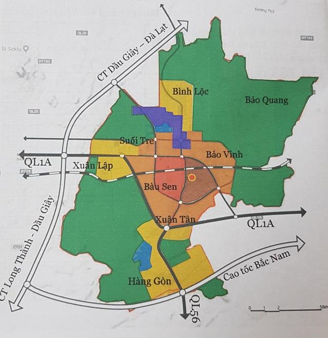 Đồng Nai nghiên cứu điều chỉnh tổng thể quy hoạch chung TP Long Khánh - Ảnh 1.