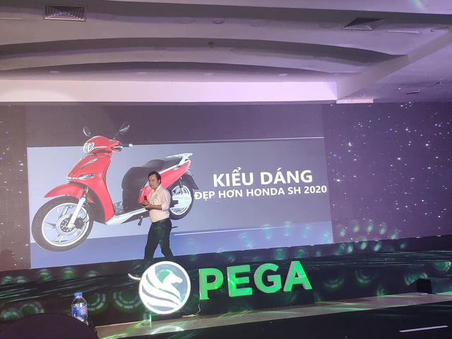 Xe máy điện PEGA eSH bản nhái Honda SH bán lỗ hàng triệu đồng - Ảnh 2.