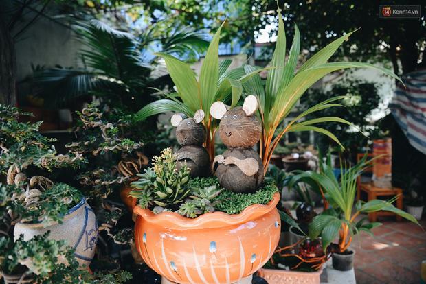 Dừa hình con chuột độc đáo ở Sài Gòn giá gần 1 triệu đồng, khách nườm nượp đặt hàng dịp Tết Canh Tý 2020 - Ảnh 5.