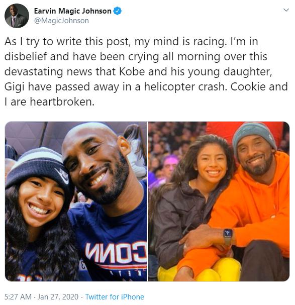BÀNG HOÀNG: Cả thế giới tiếc thương trước sự ra đi đột ngột của huyền thoại Kobe Bryant và con gái - Ảnh 1.